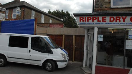 An illegal building development has appeared on Ripple Road in Barking and the council has ordered i