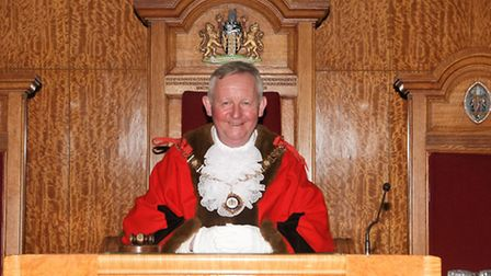 Cllr Simon Bremner, the new mayor of Barking and Dagenham (Pic: Express Photos)