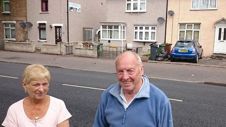 Anne and Mick McCarthy live oppoiste the house in Oxlow Lane