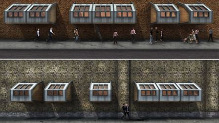 James Furzer's shelter for homless people