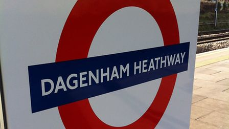 The man was pronounced dead at the scene at Dagenham Heathway tube station