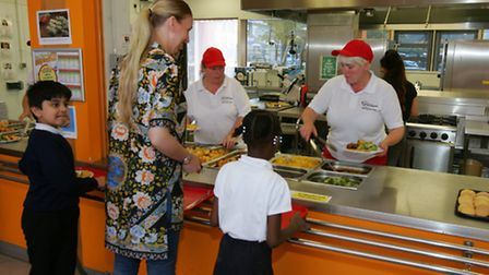 Northbury Primary School have won a gold award for their healthy eating