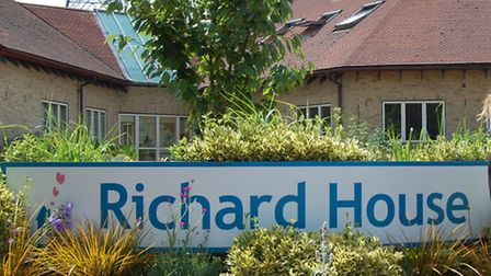 Richard House Children's Hospice's Heathway shop was given a makeover