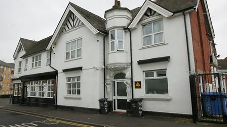 The former Britannia pub could turn into flats and a function hall