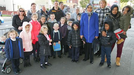 Parents at Southwood Primary School in Dagenham are concerned over the fortnight-long absence of a p