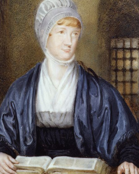 Elizabeth Fry by Samuel Drummond. This picture is in the National Portrait Gallery collection