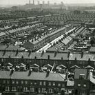 Gascoigne Estate in the 1950s, before the high rise flats were built