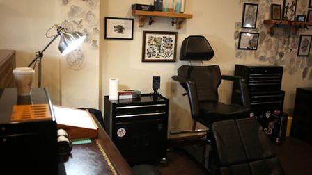 Hearts and Daggers tattoo studio in Dagenham which has recently opened