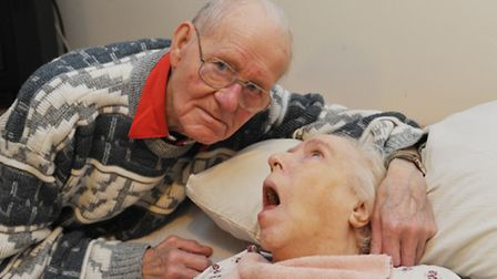 Reg Wright was told by Ryedale Care Home that his wife Lilian has to find another home before Christ
