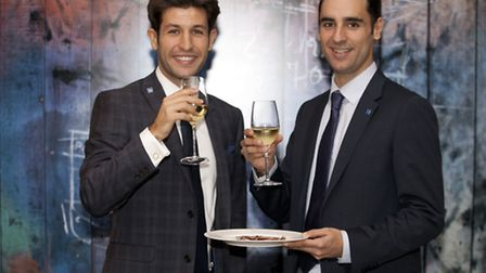Juan Jose Galicia, left, and Jesus Manso launched Tradex Consultancy from the Barking Enterprise Cen