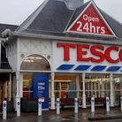 The incident happened in the Tesco car park