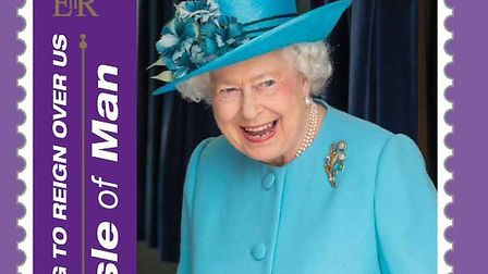 The stamp which features an image taken of the Queen in Barking