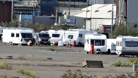 Last summer Travellers occupied land near the old Ford factory