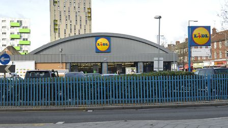 The Lidl store in Ripple Road, Barking