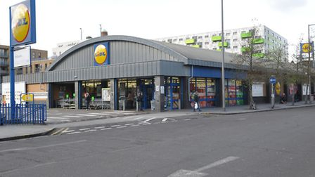 The Lidl in Ripple Road, Barking, could be demolished to make way for a bigger store