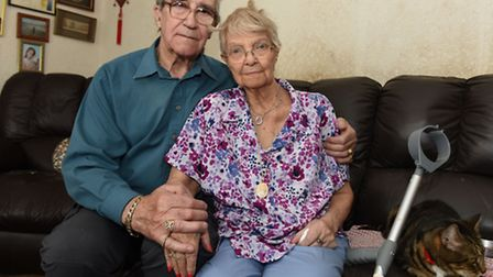 Brenda Buzer was infected with hepatitis C during a blood transfusion in the 1960s. Her husband Stan