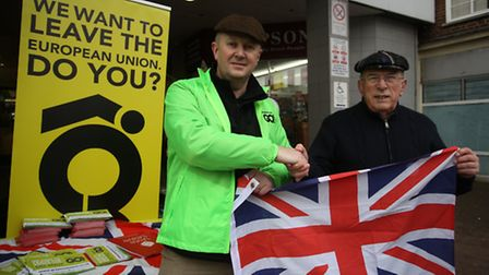 Local Ukip leader Peter Harris and chair of Dagenham Conservatives Terry Justice are part of the gro