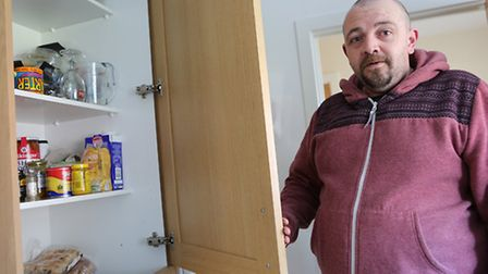 Raymond Church has to get by on just �26 a week because of government changes to welfare