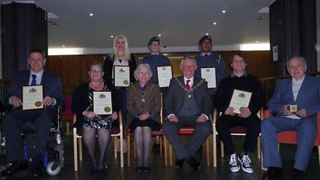 The mayor of Barking and Dagenham said it was important to recognise the 'outstanding' work of volun