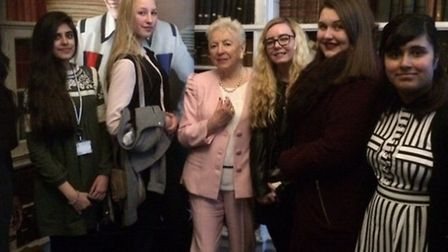 Jo Richardson Community school sixth-form students were invited to attend the 2016 Women of the Year