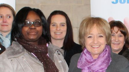 Nadia with Margaret Hodge MP