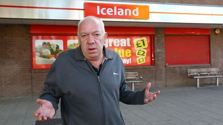 Iceland bosses were forced to apologise to Brian Relf after he was banned and accused of swearing at