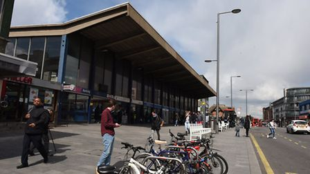 Barking station was among those experiencing an increase in crime