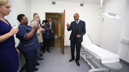 Church Elm Lane Medical Practice celebrated its tenth anniversary and opened a new room with the May