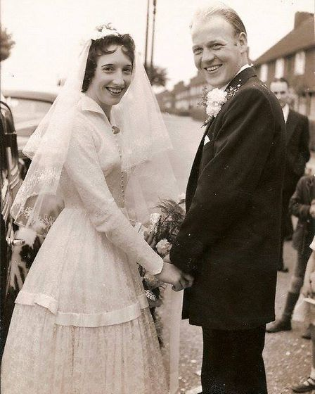 Brenda Parker was born in Sheppey Road and lived in Woodward Road with her husband Alan, pictured on