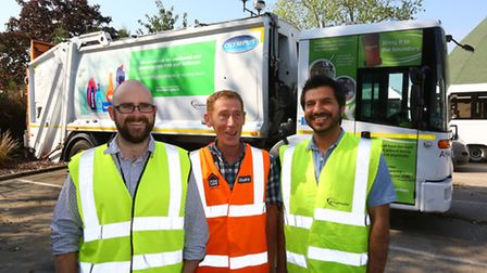 Frizlands Lane Reuse and Recycling Centre, Rainham Road North. Ben Wilde, Will Paton, and Siddiq Kha