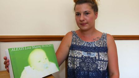 Chloe Turner, has been denied her dead baby's ashes because her X boyfriend signed for the ashes aft