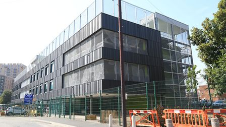 The secondary school is currently occupying the top floor of Gascoigne Primary's new building