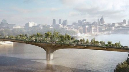 The bridge by Heatherwick Studios has caused a lot of controversy [Image by Arup]