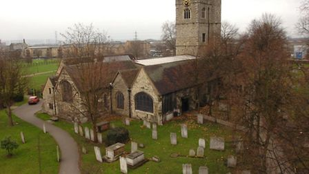 Two bodies were dumped in the grounds of St Margaret's Church
