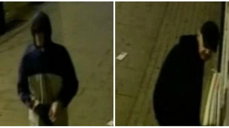 Police are appealing for help to find two suspects wanted in connection with a burglary at a Dagenha
