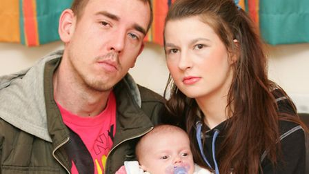 L J Bluestar-Hill has released the ashes of Alexis, pictured, which means Dagenham mum Chloe may nev