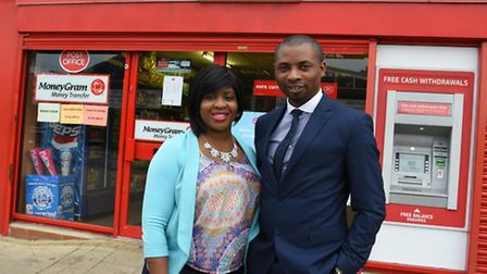 Oluwatosin and Kayode John are taking over the post office branch in Whalebone Lane South next month