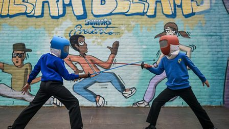 Youngsters turned their hands to everything from fencing to boccia during the week of sports.
