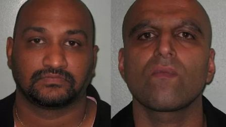 Asher Frank and Shazad Malik. Picture: HMRC.