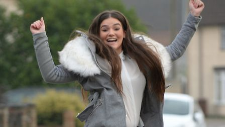 The former Barking & Dagenham College student says she can't believe her luck after being turned dow