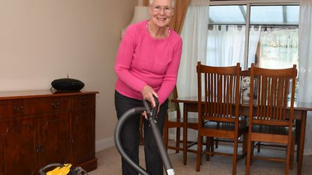 Maureen McGrath is getting back to her old routine after undergoing treatment for chronic back pain