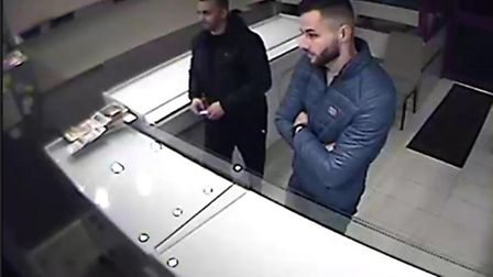 These two men have been identified by police as two people they would like to speak to in connection
