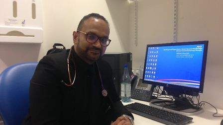 Dr Jagan John, a clinical director of Barking & Dagenham CCG, works two nights a week at the out-of-
