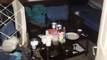 The dawn raid revealed tenants paying thousands of pounds to live in cramped conditions. Picture: Ba