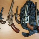 Some of the weapons handed in during the week-long gun amnesty (Pic: Met Police)