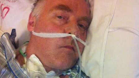 Colin Roger is in intensive care in China