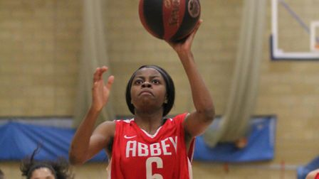 Dami Adeyinka top scored for Barking Abbey against Bristol Storm in National League Division One