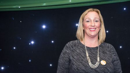 Julie Creffield was the keynote speaker at an event to celebrate women's day. The founder of the Too