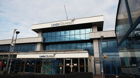 London City Airport has stepped up security at the airport following a suspected terror attack. Pict
