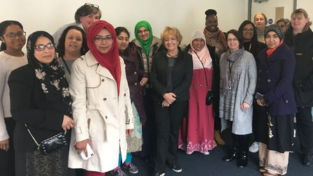 On Friday, service users, volunteers and staff at the Huggett Women's Centre talked to Margaret Hod